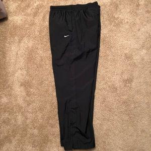 Nike Men's Joggers - Large - Black